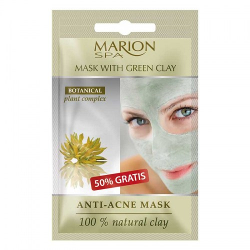 Mask with Green Clay