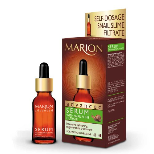 Serum with Snail Slime Filtrate  Ορός με Σάλιο Σαλιγκαριού.